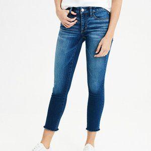 American Eagle Cropped Capri Jegging Jeans